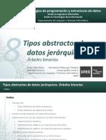 T8 - TAD Jerárquicos - Árboles Binarios