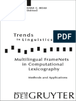 Trends in Linguistics