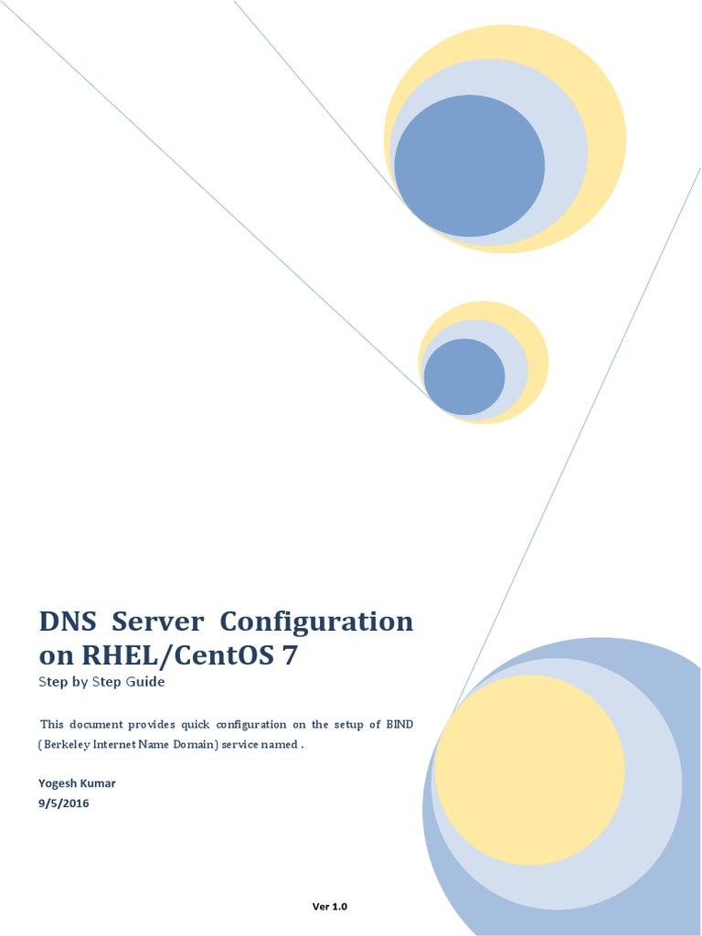 Configure DNS Server on RHEL or CentOS 7 | Port (Computer
