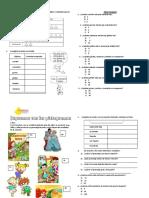 práctica pictogramas