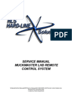 Service Manual MUCKMASTER LHD Remote Control System