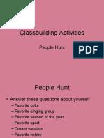 Class Building Activities