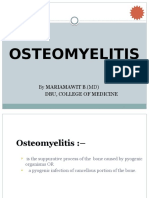 Osteomyelitis Lecture Note