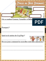 DEBUT LECTURE SUIVIE La Poule Au Bois Dormant Fiches 1 Et 2