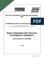 Bases Integradas Investigacion Adaptativa