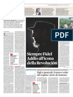 Fidel_ Il Fatto Quotidiano - 27 Novembre 2016