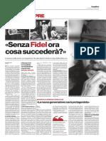 Fidel_il Manifesto - 27 Novembre 2016