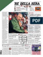 Fidel_Corriere Della Sera - 27 Novembre 2016