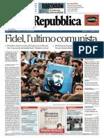 Fidel_la Repubblica - 27 Novembre 2016