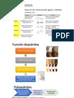 Disacaridos-polisacáridos Primera Parte
