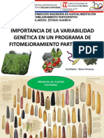 Obj. 2. Variabilidad Genetica