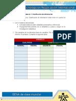 Evidencia 1 Clasificacion de Informacion