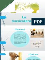 Diapositivas musicoterapia