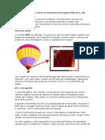 Quais as Diferenças Entre Os Formatos de Imagem PNG