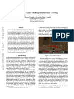 Playing FPS Games With Deep Reinforcement Learning