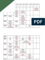 Module 6 Practical Schedule 4