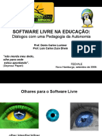 Software Livre Na Educacao Dls2009