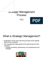 10-2 Strategic Management Process