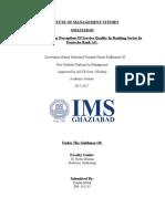 Dissertation Report Kanika