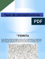 Tipos de Microestructuras