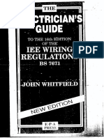 37151001 IEE Wiring Regulation