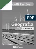 Bernoulli Resolve Geografia Volume 4