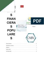LAS SOCIEDADES FINANCIERAS POPULARES