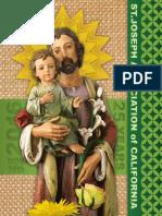 St. Joseph Association of California Anniversary Booklet 2016