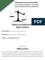 Investigacion Marco Logico