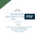 Engineering Mathmatics