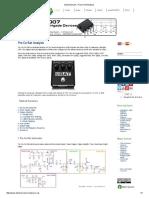 ElectroSmash - ProCo Rat Analysis