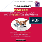 Comment Parler n 39 Importe Qui Dans Toutes Les Situations WwW LivreBooks EU