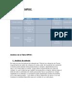 Diagrama Sipoc y Analisis Completo Terminado
