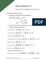 Problemas Diagrama Fe-C