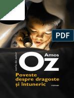Poveste Despre Dragoste Si Intu - Amos Oz