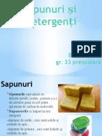 Sapunuri Si Detergenti