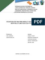 Gases Reales - ECUACION DE ESTADO - PITZER