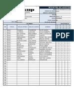 Registro de Notas -Excel