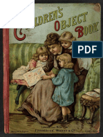 childrens object book