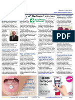 Pharmacy Daily for Mon 28 Nov 2016 - Terry White board evolves, GSK named API supplier of the year, BioCeuticals takes ceo gong, Weekly Comment and much more