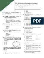 Examen de Geometría y Matemáticas Financiera - 6to Grado