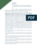 Los Métodos de Interpretación Jurídica Ejemplificados