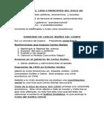 Resumen Chile 1920 Al 1950