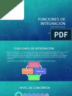 Funciones de Integración