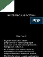 Bayesian Clasification