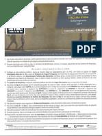 Gabarito extraoficial PAS 3 UnB