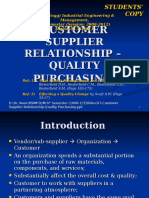 07-Customer Supplier Relationship-Quality Purchasing