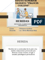 HERIDAS FRANCIS COLLINS.ppt