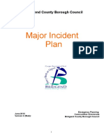 Major Incident Plan