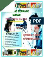 Historia Clínica Oftalmológica